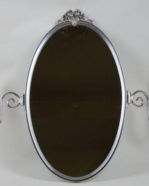 Lustro z kinkietami po boku srebrne Hiszp.60 -228