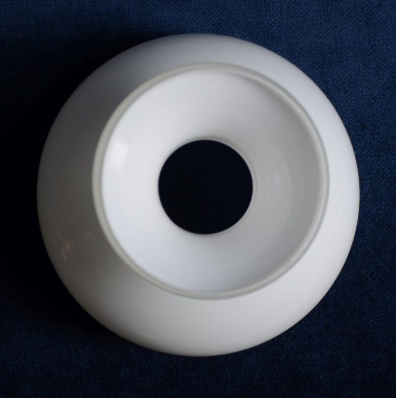 Biały klosz kopułka lampa naftowa Hiszp.-8.15.